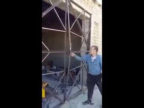 Origami Steel Gate Youtube