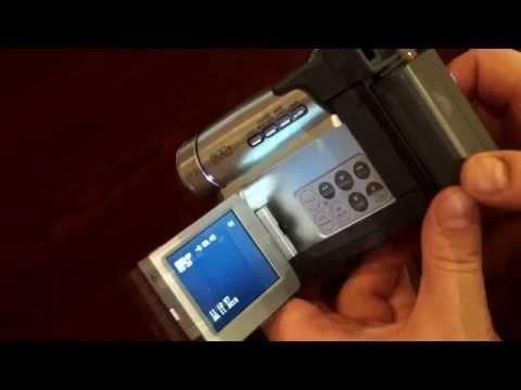 Camcorder Camera Video Silver 500 X Digital Zoom Panasonic Mini DV Monitor LCD