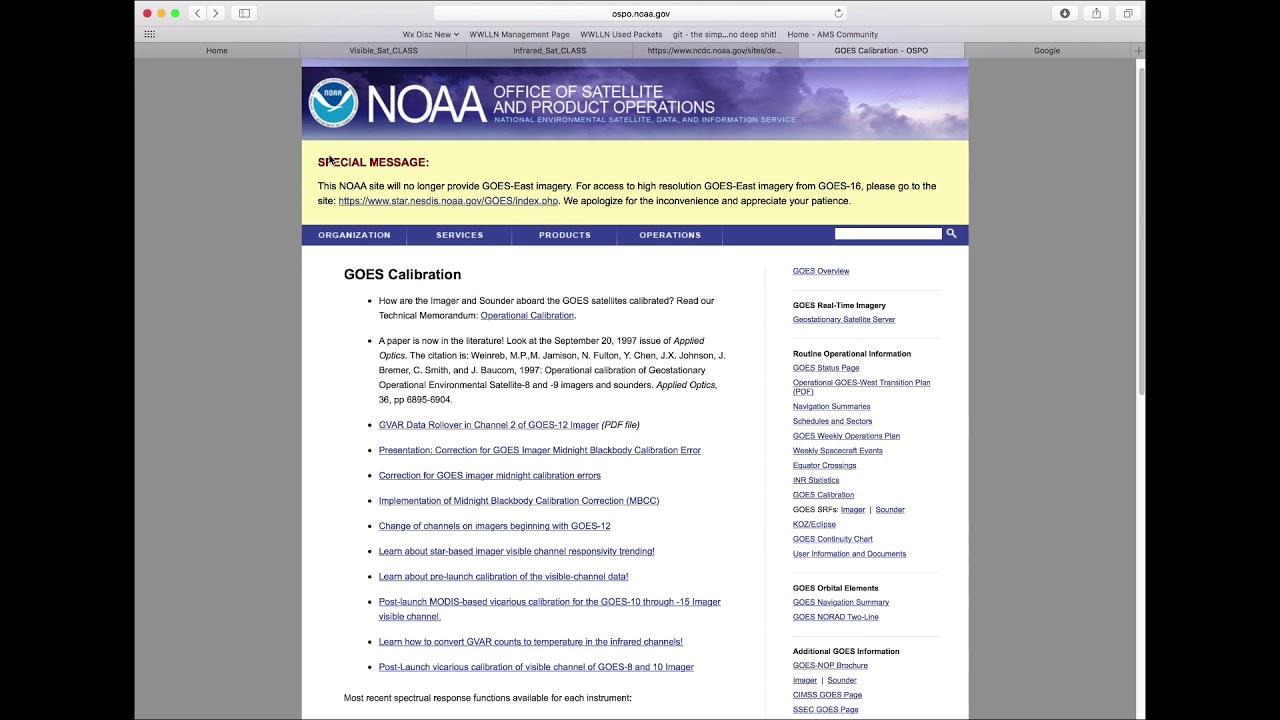 MetPy Mondays #49 - Satellite Data with CLASS Part 6