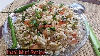 Jhal Muri - Kolkata Puffed Rice Snack | Masala Pori | Murmura Chivda | Spicy Puffed Rice