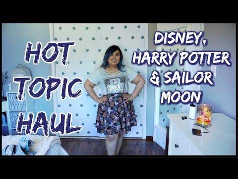 HOT TOPIC HAUL || Harry Potter, The Golden Girls, Disney & Sailor Moon