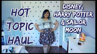 HOT TOPIC HAUL || Harry Potter, The Golden Girls, Disney & Sailor Moon