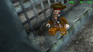 LEGO Pirates of the Caribbean - PC Gameplay - FRAPS recorded in HD 1080P