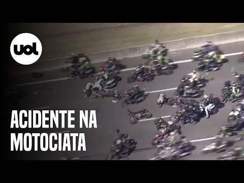 Motociclista perde o
