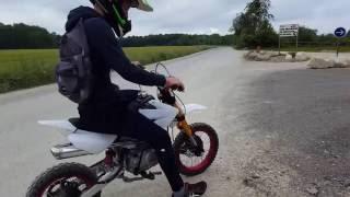 Pit Bike / Dirt Bike 125cc exhaust sound