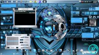 Desktop Setup - May 2011 (GUI Breed, Bluevision, Ironman, Objectdock)