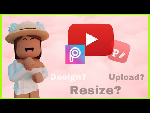 How to make a Roblox channel art using mobile only(ios/android)2020!