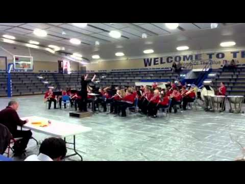 DuQuoin Middle School band