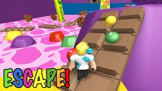 Roblox / Escape Candy Land Obby?! / Jeu Chad Plays