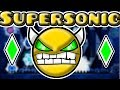 Geometry Dash 2.1 - SUPERSONIC 100% (Practice Mode) - HARD DEMON