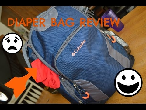 Columbia Diaper Bag Review | Dad Diaper Bag