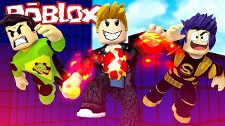 HOW to become a SUPER HELDEN - ROBLOX