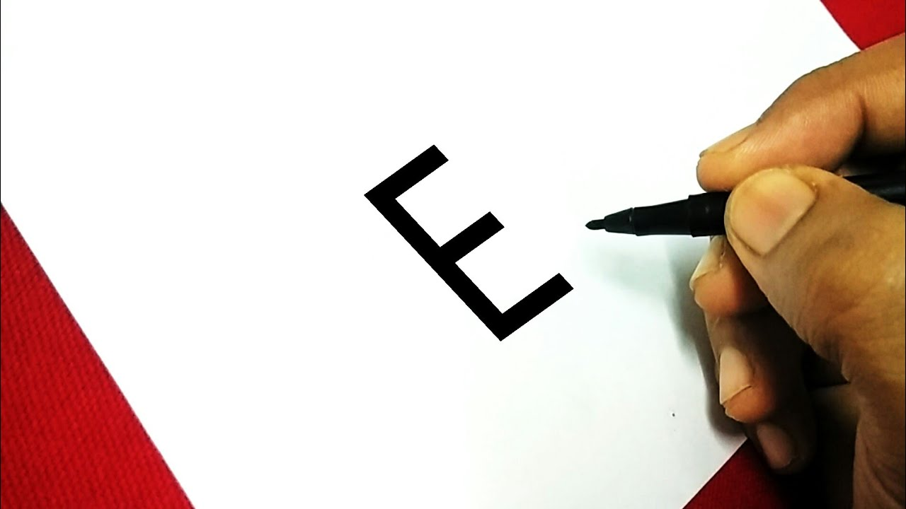 Easy Drawing Tutorials For Kids With Letter E Drawing Characters For Kids Ds Art Hub