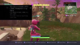 FORTNITE TRYING TO GET A DUO WIN  GAME PLAY PS4]