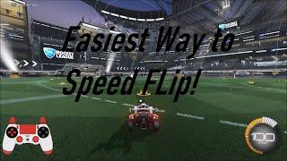 EASIEST WAY to Spęed Flip in Rocket League!