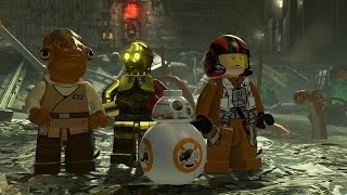 Video LEGO Star Wars: The Force Awakens - Rewind Theater download MP3, 3GP, MP4, WEBM, AVI, FLV Oktober 2018