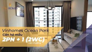 Vinhomes TV | Khám phá căn hộ mẫu 2PN+1(2WC) căn thường - Dự án Vinhomes Ocean Park