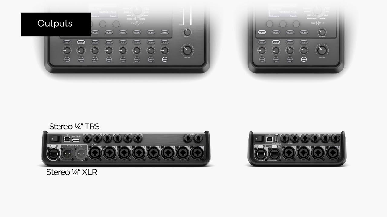 T4S/T8S ToneMatch® Mixer - Bose Portable PA Encyclopedia FAQ