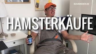 Sepp Bumsinger und der Karl-Heinz - Hamsterkäufe wegen Corona Virus