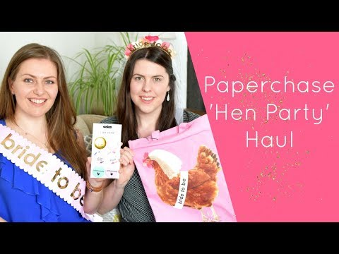 Paperchase Hen Party Haul SS19
