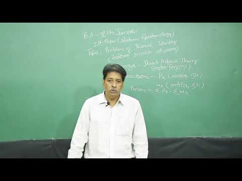 Philosophy_Problem of Personal Identity_Sem-5_P-1( Western Epistemology)