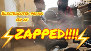 ELECTROCUTED (PASSED OUT) PRANK ON GIRLFRIEND!!! |Lolo & Free Team|