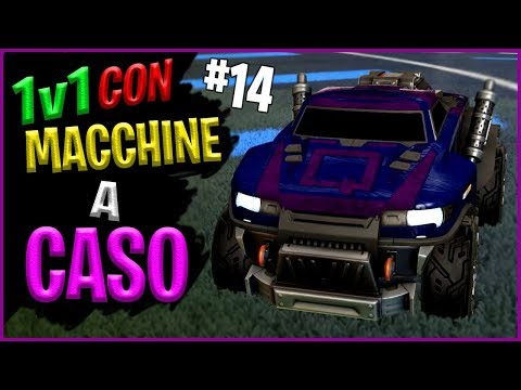 1v1 Con Macchine a Caso - Rocket League DUELLO ITA [#14] thumbnail