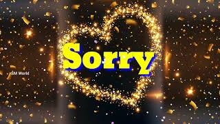 I Am SORRY message💖🙏☃️ For ❤ Love ❤ Gf 💑 Bf 🌷 Wife 💏 Husband 😍 Friends 🙅 Best SORRY message