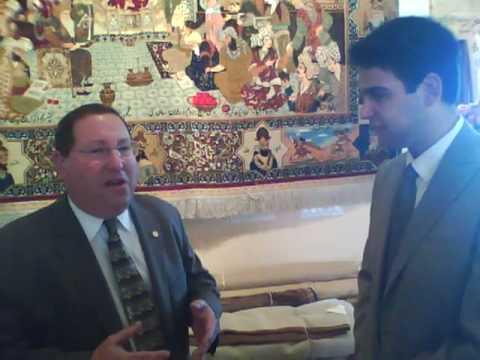 Karmel Melamed interviews Paul Koretz, L.A. City Council member for Persian New Year, No Ruz