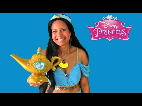 Disney Princess Aladdin Magic Genie Lamp With Princess Jasmine ! || Disney Toy Reviews || Konas2002