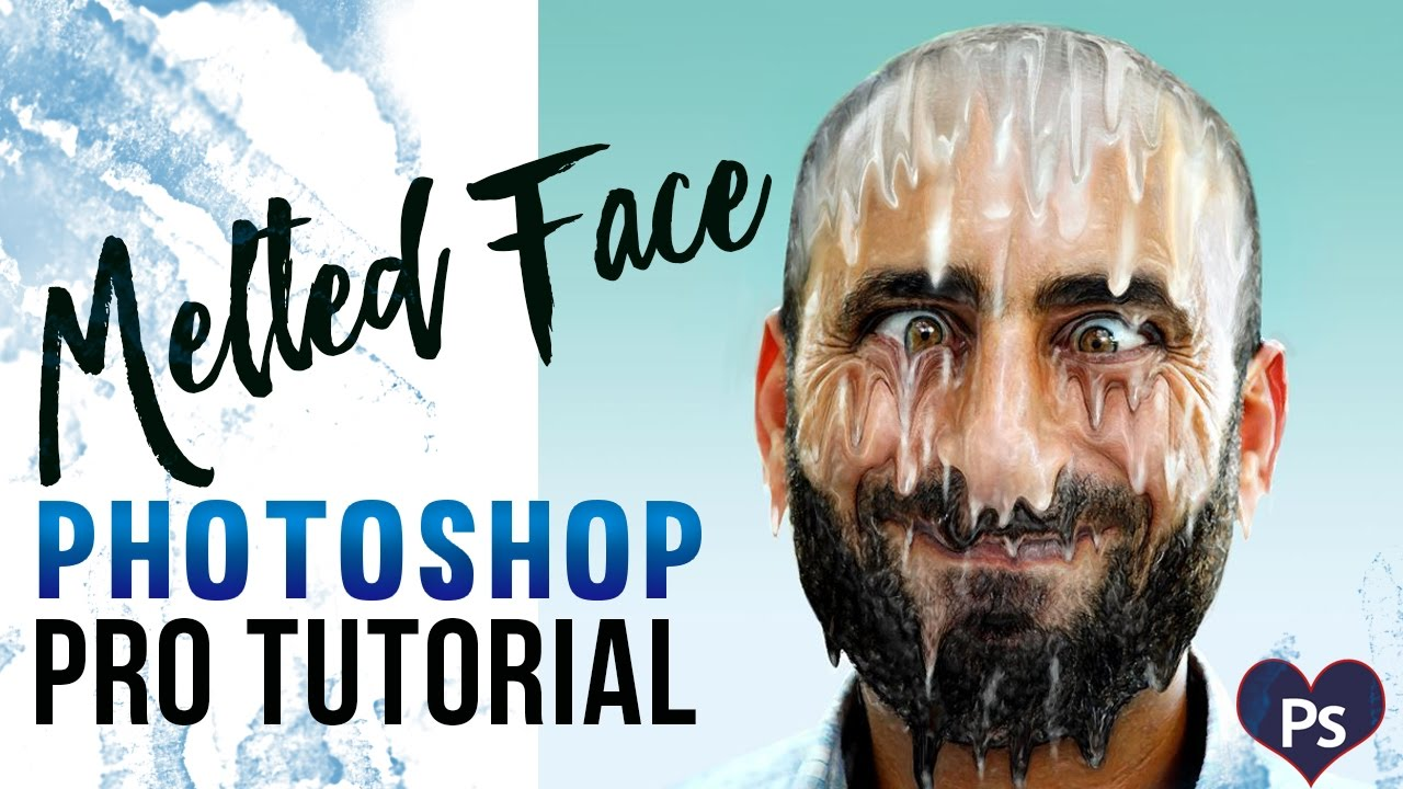 Melting Face Effect  How To Make Melting Effect In Photoshop