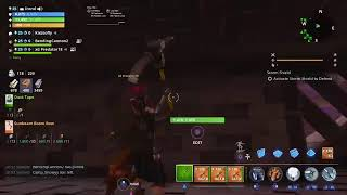 HUGE FIRE CANDY CORN LMG AND NATURE JACKOS Giveaway FORTNITE SAVE THE World ( Live!!! ROAD TO 1500