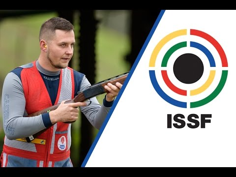 Interview with Nikolay TEPLYY (RUS) - 2016 ISSF Shotgun World Cup Final in Rome (ITA)