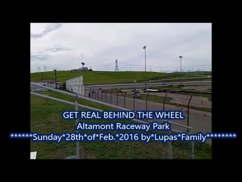 Clip 1 of 2, GET REAL BEHIND THE WHEEL ALTAMONT RACEWAY PARK