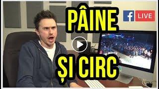 PÂINE ȘI CIRC   LIVE pe Facebook