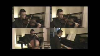 Falling Slowly (violin x 2, piano & cello)