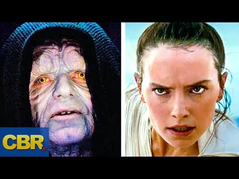 Palpatine's Family Tree Explained After Star Wars: Rise Of Sky Walker
