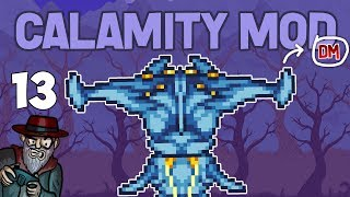 Terraria # 13 ABYSS JUMPSCARE!!  Calamity Mod D-Mode Let's Play