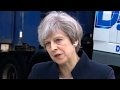 theresa may this is not targeted at the nhs its an international attack – video
