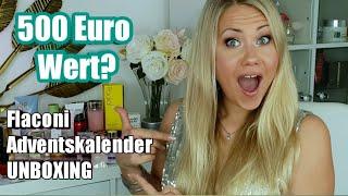 Flaconi Adventskalender 2018 Unboxing | Wert 500 Euro 🤑? + Verlosung Urban Decay NAKED petite HEAT!
