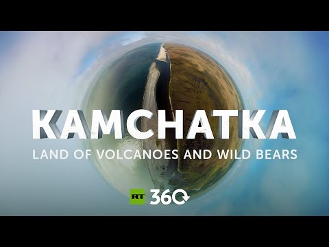 Kamchatka stunning 360 aerial footage of one of the most beautiful corners of Russia
