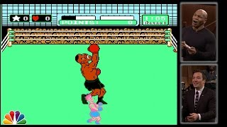 Repeat youtube video Mike Tyson Tries to Beat Himself in Punch-Out!!