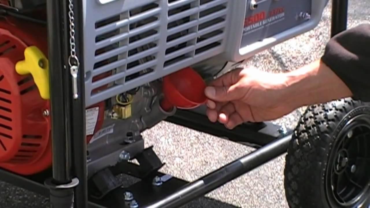 How To Start Your Portable Generator Pull Youtube Prime Genset Pr7500cl 6000watt