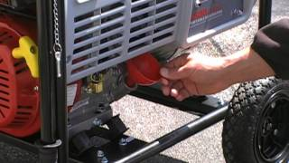 How to Start Your Portable Generator - Pull Start