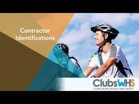 ClubsWHS - Contractor Identifications (Mobile)