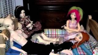 Ikea Duktig Bed With Dolls In It