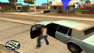 Прохождение GTA San Andreas:Миссия 3 - Граффити на территоррии(Sweet решает, что пора отбить родную территорию у группировок, захвативших ее за долгие пять лет. Садись с..., 2012-08-12T17:09:50.000Z)