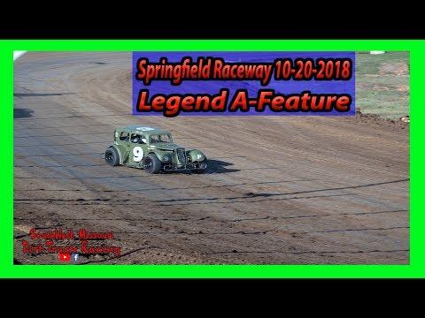 Legend A-Feature - Lil Buck 31 - Springfield Raceway 10/20/2018