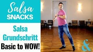 Salsa Grundschritt - Basic to Wow!// Salsa Snack #46