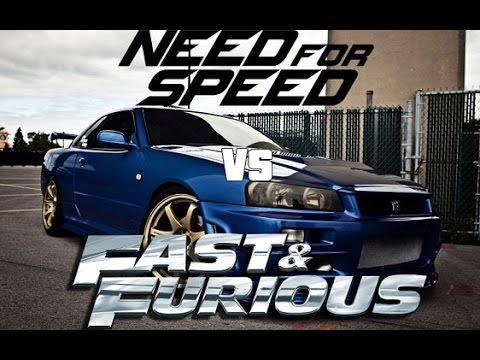 Need For Speed vs Fast & Furious Pitbull  Blanco ft Pharrell